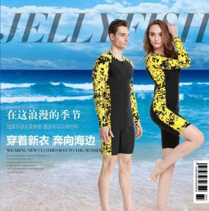 印刷された&Hotの販売様式のLycraの水着