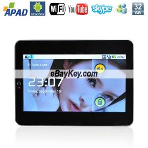 M7001 10,2-дюймовый ноутбук Android 2.1 Поддержка планшетных ПК 3G HD
