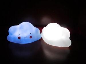 Il vinile potrebbe notte del LED blu-chiaro