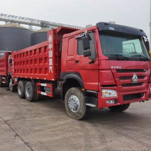 Utilisé avec précaution Sinotruk HOWO 6X4 371hp tombereau/camion à benne basculante/ Camion-benne