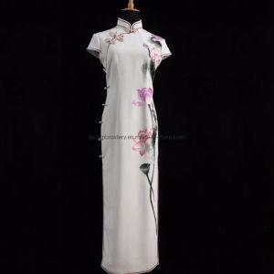 Vestido de Dama Madehand personalizado bordado Dama vestido de fiesta vestido de lujo
