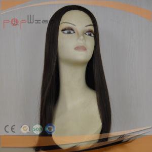 まっすぐに100%の人間のバージンの毛のかつら(PPG-l-0363)