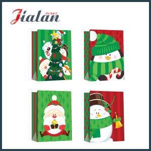 선전용 포장 싼 OEM 로고 디자인 크리스마스 성탄 선물 부대