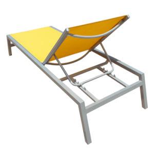 Pátio com jardim exterior de alta qualidade Mobiliário Pool Lounge Chaise Sun Ben Espreguiçadeira Cama mentirosa praia espreguiçadeira Espreguiçadeira