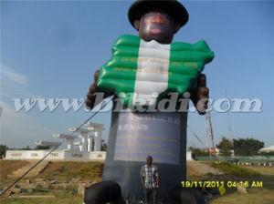 ballon K2105 van het Beeldverhaal van het Karakter Prsident van 8m de Hoge Opblaasbare