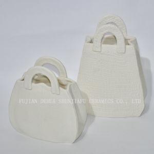 Оптовая торговля мешок форма Flower Pot керамические
