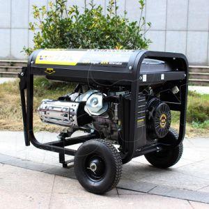Bizon (China) BS7500j (h) 6kw 6kVA Generator van de Levering MOQ van de Garantie van 1 Jaar de Kleine Snelle Kleine Elektrische met Knalpot
