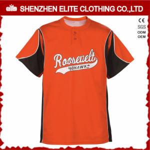 Baseball arancione Jersey (ELTBJI-2) della più nuova stampa su ordinazione di disegno