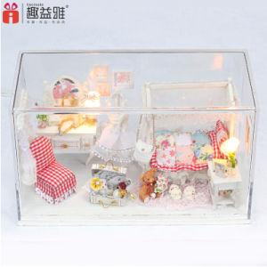 Het eenvoudige Huis van Doll van de Prinses Mini voor Meisjes