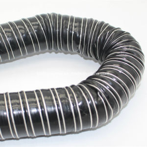 Alta temperatura do fio à prova de mangueira flexível de silicone reforçado