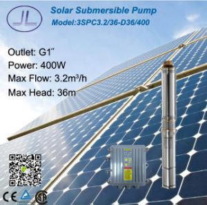 400W Systeem Met duikvermogen van de Pomp van het roestvrij staal het Zonnegelijkstroom