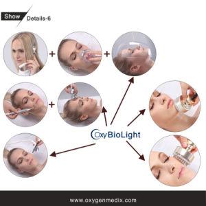 Machine faciale de beauté de soin de gicleur de l'oxygène