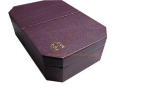 Octangle Double Door Luxury jóias personalizado para Caixa de exibição
