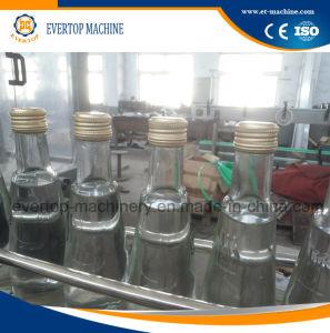 De Machine van het Flessenvullen en het Afdekken van het glas