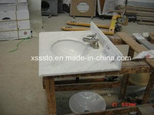 Base d'appoggio di marmo della parte superiore di vanità G500