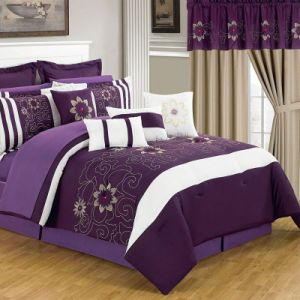 Ropa de cama suave color natural con material 100% algodón
