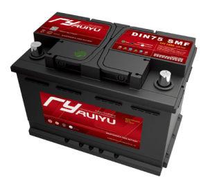 DIN75 12V 75ah selada de chumbo da Mf bateria de carro automático