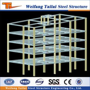 Estructura de acero prefabricada taller de construcción para la Oficina de almacenes y tiendas con múltiples pisos