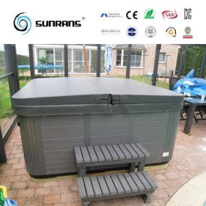 Sconto Portable Wooden Whirlpool Soft Hot Tubs con Balboa Control Panel e Ozonator in Backyard (SR826)