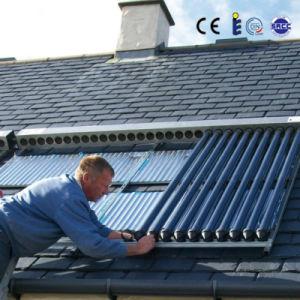 Solarkeymarkのセリウムのヒートパイプのソーラーコレクタの不凍剤の銅の管の保護