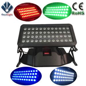 Impermeable al aire libre/48x10W RGBW City Light LED Lámpara de bañador de pared