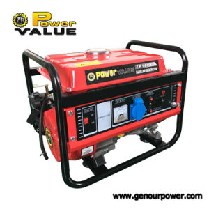 Alimentación Genour Zh1500CX154F/156f 850W/kVA 1000kVA/Kw/Gasolina Generador Pertrol 100% de cobre 220V/110V 50Hz/60Hz