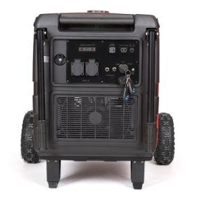 Betrieb 6000 Watt Benzin-Generator-mit Schlüsselanfang für Hauptenergie