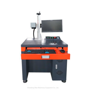 上昇シャフト600mmとの電子要素レーザーのマーキング機械価格