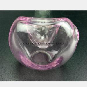 Rosafarbene Glaspfeife des Filter-Öl-Wiederanlauf-Wasser-Rohres