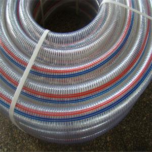 Hochtemperaturverstärkter Polyurethane/PU Absaugung-Schlauch des stahldraht-