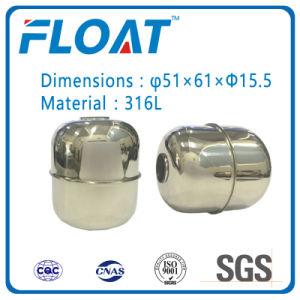 La bola de acero inoxidable de bola flotante magnético flotante para interruptor de nivel de agua