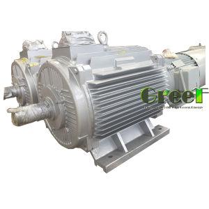 低速常置磁気同期交流発電機90kw 400rpm