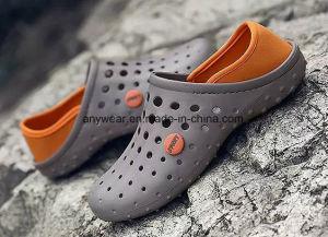 Zuecos Flip-Flops informal para hombres y mujeres EVA zapatillas Sandalia Calzado (796)