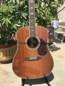 41 Solid Spruce Top Electric violão acústico com Pickup Fishmans 301 (D45S)