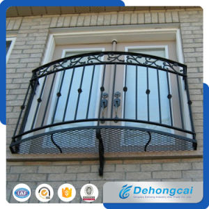 EUの標準住宅の電流を通された鋼鉄/錬鉄のバルコニーの安全塀
