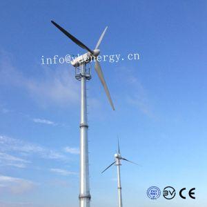AC 360V trifásicas 20kw turbina eólica controlados por PLC