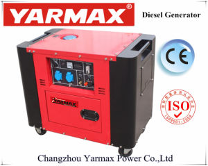 Tipo silenzioso economico generatore diesel 3kw 5kw 6kw del singolo cilindro poco costoso di Yarmax