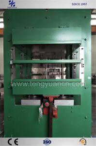 Professional Rubber Products Vulcanizing를 위한 400tons Pressure Plate Vulcanizing Machine