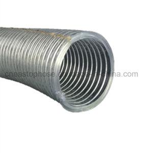 Tubo flessibile di rinforzo del filo di acciaio del PVC per completamente aspirazione rigida di vuoto