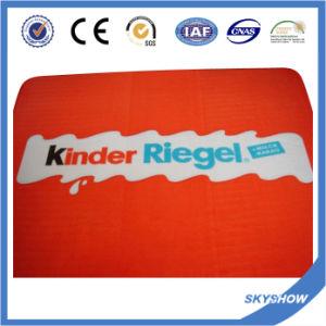 Coperta promozionale 100% del panno morbido di stampa di colore completo del poliestere (SSB0211)
