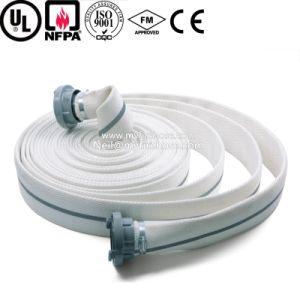 Tubo flessibile resistente a temperatura elevata del rivestimento del doppio allineante del PVC
