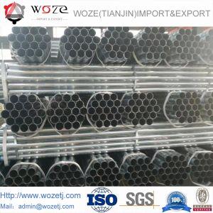 ASTM A53 BS1387 1/2  - 10  caldi tuffati galvanizzato intorno al tubo d'acciaio