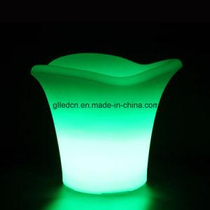 식당 가구를 위한 타원형 얼음 양동이 LED