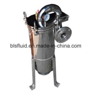 Vertikaler Edelstahl-Beutel-Typ Wasser-Filter