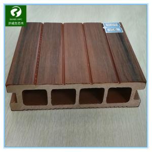 De houten en Plastic Samengestelde Decking en Bevloering van de Techniek