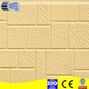 Matériau de construction de maison préfabriquée panneau sandwich polyuréthane