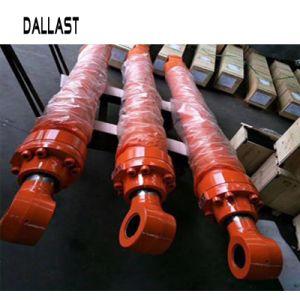重い土工の機械装置クレーンのための高圧倍の代理の水圧シリンダ
