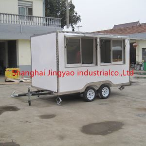 販売のためのケイタリングのトレーラーの食糧トラックかファースト・フードの移動式台所トレーラーまたはワッフルのカートの食糧カート