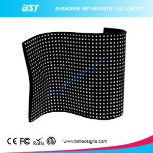P10mm pleine couleur intérieure Affichage LED Flexible pour toute Sharp