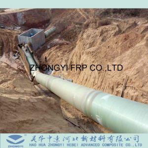 El peso de la luz de fibra de vidrio, suministrando agua del tubo de plástico reforzado con fibra